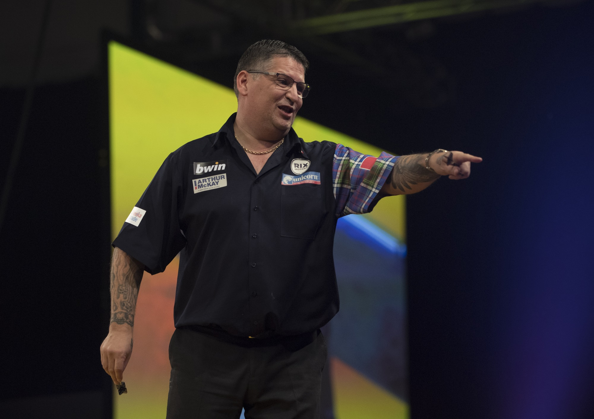 Anderson aims for Ally Pally hat-trick